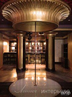 Стрип-зона в ночном клубе: интерьер, ар-деко, open space, ночной клуб, дискотека, 100 - 200 м2 #interiordesign #artdeco #openspace #nightclub #disco #100_200m2 arXip.com