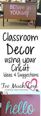 to Use Your Cricut for the Classroom Use your Cricut to decorate your classroom.Use your Cricut to decorate your classroom. Middle School Classroom, Classroom Setup, Classroom Design, Future Classroom, Classroom Organization, Classroom Door Quotes, Inspirational Classroom Quotes, Classroom Wall Decor, Themes For Classrooms