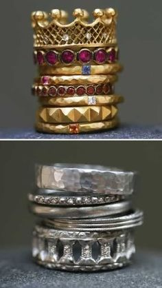 who does not want a gorgeous stack of rings?