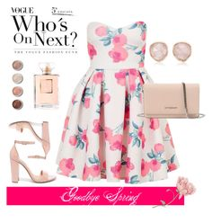 """""""Prety pink"""" by kary103 on Polyvore featuring moda, Topshop, Steve Madden, Monica Vinader, Givenchy y Terre Mère"""