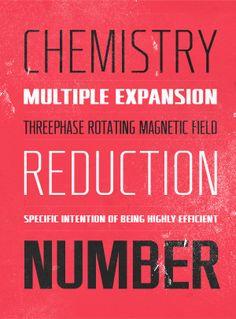 Typography / RBNo2 by Rene Bieder, via Behance