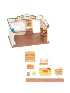 Supermarket & Hopper Kangaroo Family Set by Calico Critters at Gilt