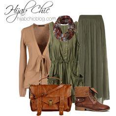 by hijab-chic, via Polyvore