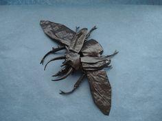 Atlas Beetle New Version Painted by shuki.kato, via Flickr
