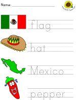 Kids cinco de mayo printables & coloring pages