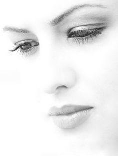 A dreamy gaze.