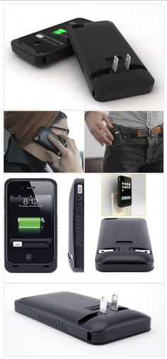 First iPhone 'Case & Charge in One'