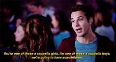 "He isn't afraid of the future. | 15 Reasons Jesse From ""Pitch Perfect"" Is The Boyfriend You Wish You Had"