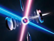 Quantum Information stored in a single atom transferred onto a photon