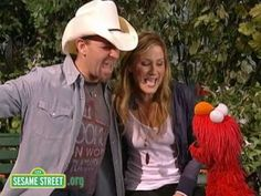 In this clip, Elmo and Sugarland sing about songs.  Sesame Street is a production of Sesame Workshop, a nonprofit educational organization which also produces Pinky Dinky Doo, The Electric Company, and other programs for children around the world.