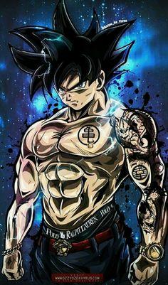 Yakuza Goku in his Limit Breaker form.
