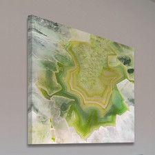 Agata Verde Painting Print on Wrapped Canvas
