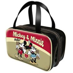 Mickey & Minnie Telephone Toiletry and Make Up Bag