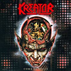 Coma of Souls is the fifth studio album by German thrash metal band Kreator, released in It was reissued in with the lyrics for . Thrash Metal, Heavy Metal Art, Heavy Metal Bands, Black Metal, Death Metal, Rock Album Covers, Metal Albums, Best Albums, Greatest Albums