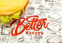Better Burger on Packaging of the World - Creative Package Design Gallery