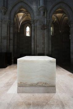   ARCHITECTURE   #JohnPawson's #Archabbey of Pannonhalma - beautiful. old and new stone