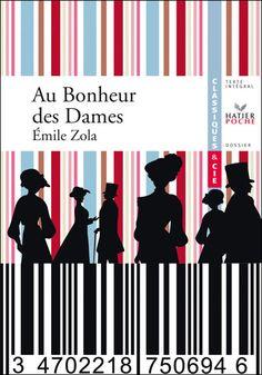 Au bonheur des dames by Emile Zola Emile Zola, E 3, Illustrations, Novels, Books, Movie Posters, Letters, Libros, Illustration
