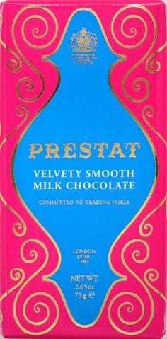 """Prestat Milk Chocolate """"Velvety Smooth"""""""