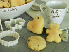 Biscotti+Frollini,ricetta+senza+burro