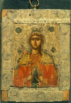 Αγία Κυριακή - old icon