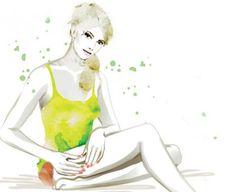 Anti-Cellulite-Massage Rollen und ziehen  Auf ein dickes Kissen setzen, ein Bein aufstellen. Haut mit Daumen und Fingern fassen und einige Male langsam hin- und herrollen – partienweise von oben hinab zum Knie, auf einer Linie. Dort Fingerspitzen auflegen und die Haut nach oben ziehen. Rund ums Bein wiederholen. Beinwechsel.
