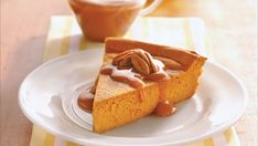 Create a no-fuss pumpkin dessert that's in the oven in just 10 minutes. Impossibly Easy Pumpkin Cheesecake