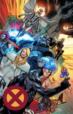 Art Vault — The Dawn of X-Men by Adam Gorham and Paris Alleyne. Comic Book Characters, Marvel Characters, Comic Character, Xman Marvel, Marvel Xmen, Marvel Universe, X Men Personajes, Avengers, Black Comics
