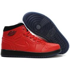 Air Jordan 1 Anodized Basket - Varsity Red Black White