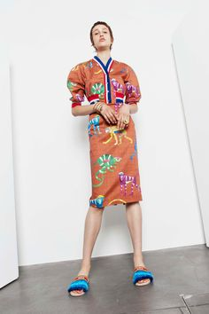 Stella Jean Resort 2018 Fashion Show Collection