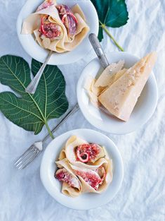 creamy fig and chilli pasta
