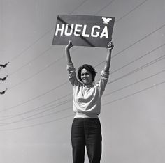 """What we have to give our children are values, not so much material, [but] a social conscience. You have to involve them at a very young age so they grow up knowing that this is something they can do."" -Dolores Huerta, labor leader, civil rights activist, and early member of the National Farmworkers association. #WomenWhoInspire"