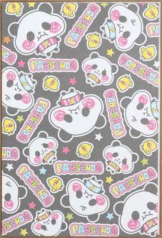 kawaii mini panda Letter Set by Lemon from Japan  2