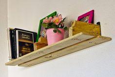 Muebles de palets: Dormitorio juvenil completamente amueblado con palets