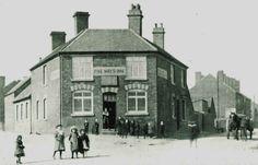 Five Ways pub, Heath Hayes. 1890s.