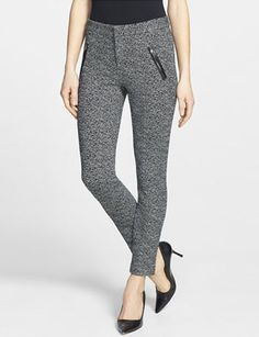 REBECCA TAYLOR 'Stove Pipe' Crop Slim Leg Pants
