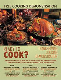 Healthy cooking for the holidays!