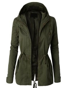 LE3NO Womens Military Anorak Safari Jacket Vest at Amazon Women's Coats Shop, ony $28.00!!!!