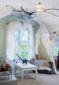 Fairytale kids bedroom