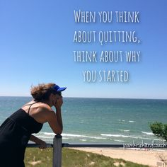 It's easy to set a goal. It's tough to reach it unless you decide it is going to be the only thing you work for, and nothing is going to get in your way! So when you think about quitting, think about why you started in the first place!
