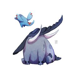 Donphan and Phanpy