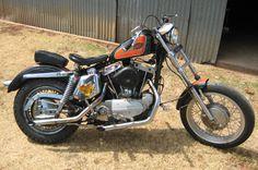 1970 Harley-Davidson Sportster   Photograph of 1969 Harley Davidson XLCH Ironhead Sportster Project ...