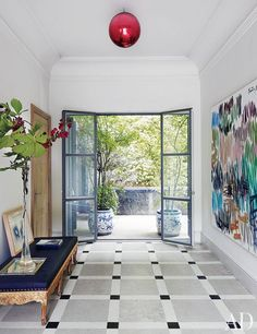 Isabel Lopez-Quesada's Elegant Madrid Villa : Interiors + Inspiration : Architectural Digest