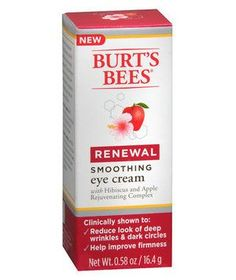 Burt's Bees Renewal Smoothing Eye Cream | The best beauty products in the aisles, handpicked by Ellen Marmur, a dermatological surgeon in New York City and an associate clinical professor in both the department of dermatology and the department of genetics and genomic research at Mount Sinai Medical Center.