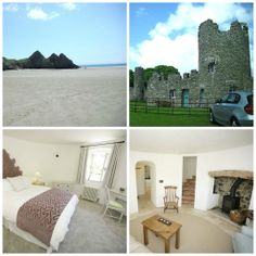 The Towers at Penrice, Penrice Castle, Oxwich Bay, Gower, South Wales