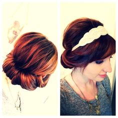 gatsby inspired hairstyles   Great Gatsby inspired hairstyle #1920's   hair