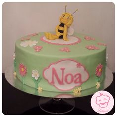 Maja de bij taart / maya the bee cake - Lataart - www.facebook.com/lataart1