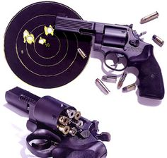 Medusa Model 47 Revolver, which can chamber and fire 25 different caliber bullets...LOVE THIS!!!!!