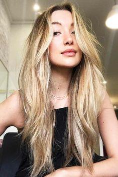 Dirty Blonde Hair With Blonde Highlights #blondehair #longhair #wavyhair #highlights