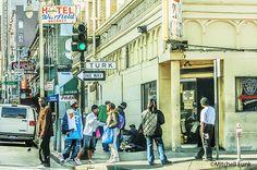 21 Club On Turk Street In The Tenderloin, San Francisco By Mitchell Funk  www.mitchellfunk.com
