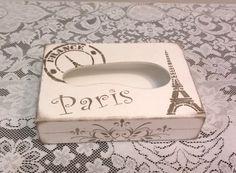 Porta lenço Paris   Bragatto Atelier   Elo7